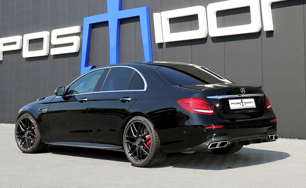тюнинг tuning Posaidon Mercedes-AMG E 63 The Black Knight