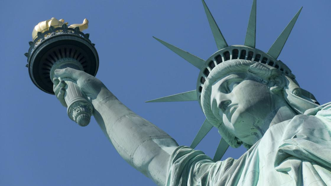 Тайные комнаты Статуя Свободы Нью-Йорк США