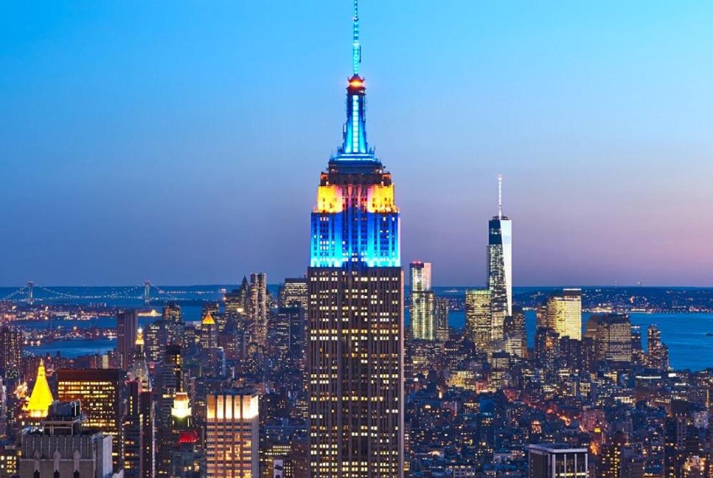 Тайные комнаты Эмпайр-стейт-билдинг Empire State Building Нью-Йорк США