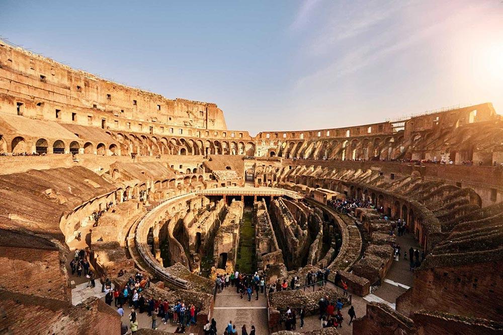 Тайные комнаты Колизей Рим Италия