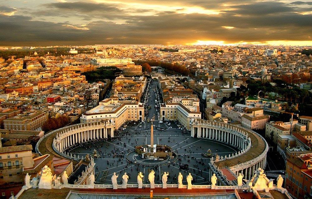 крошечные места Ватикан