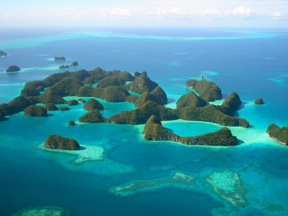 крошечные места Палау