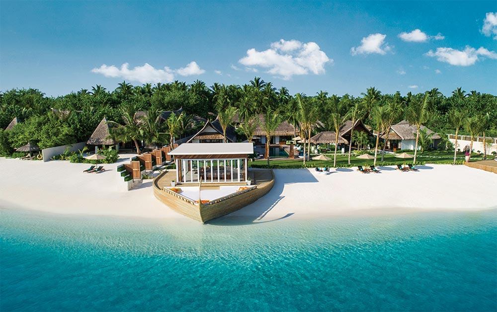 крошечные места Мальдивы