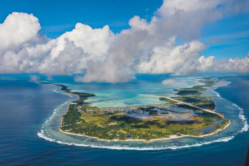 крошечные места Кирибати