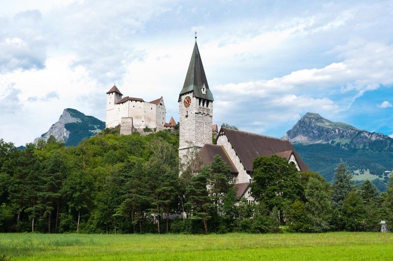 крошечные места Лихтенштейн