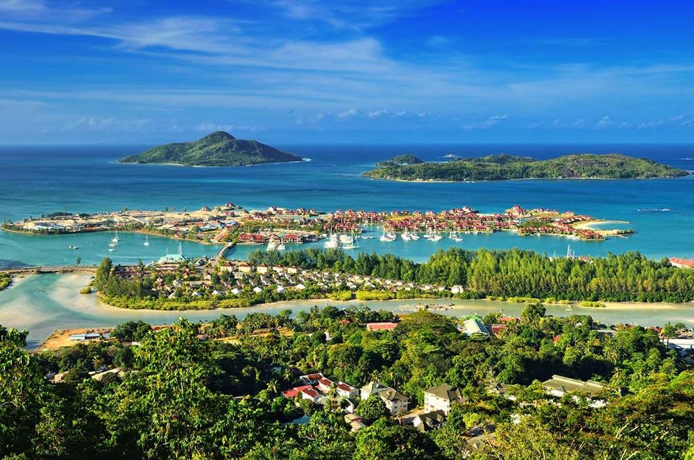 крошечные места Сейшельские острова