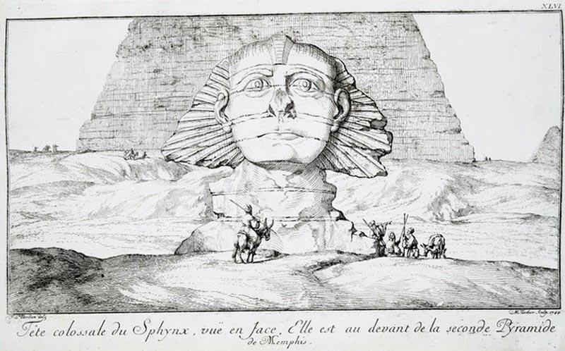 факты о Древнем Египте Загадка безносого Сфинкса