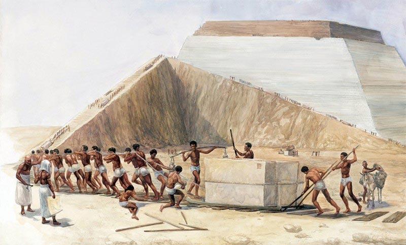 факты о Древнем Египте Рабы и пирамиды