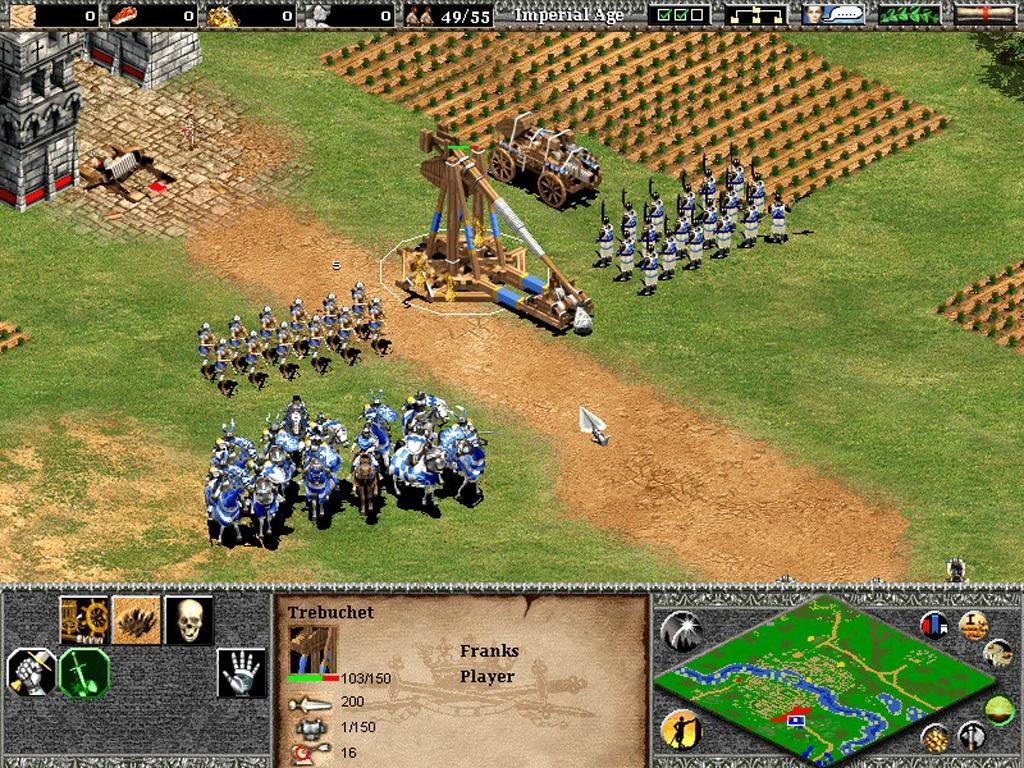 игры о Средневековье Age of Empires 2 Age of Kings