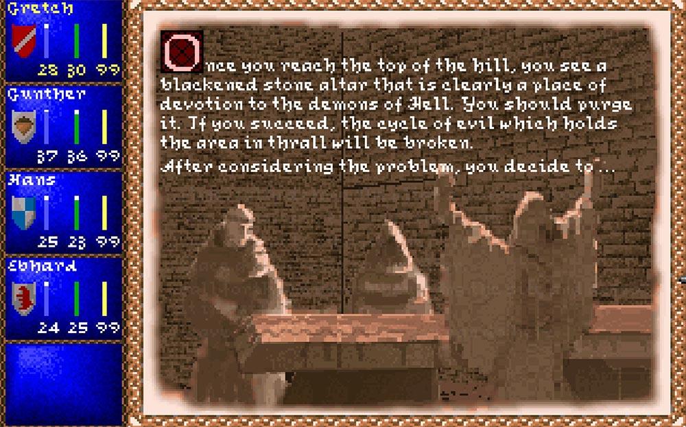 игры о Средневековье Darklands