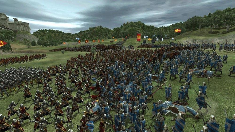 игры о Средневековье Medieval: Total War