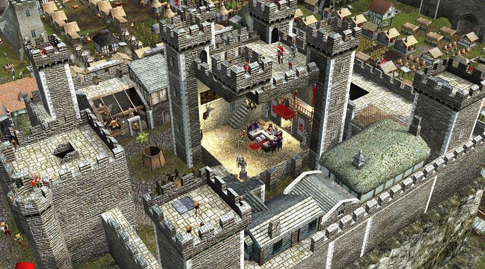 игры о Средневековье Stronghold