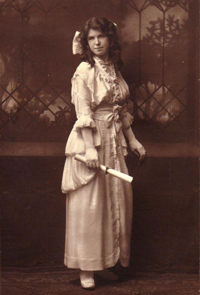 Гламурная красота молодых дам начала XX века