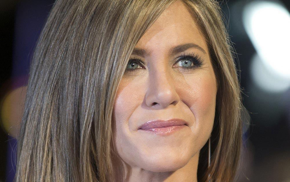 Голливуд сексуальная актриса Дженнифер Энистон Jennifer Joanna Aniston