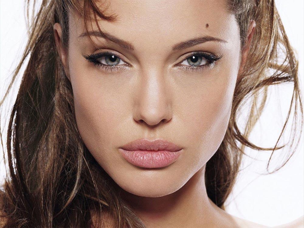 Голливуд сексуальная актриса Анджелина Джоли Angelina Jokie Pitt