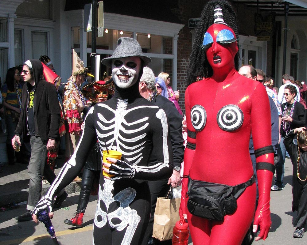 карнавал Марди Гра Новый Орлеан Лос-Анджелес США