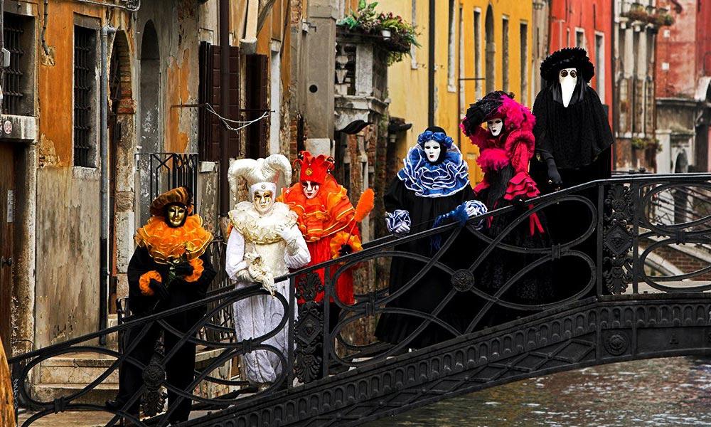Карнавал Венеции Венеция Италия
