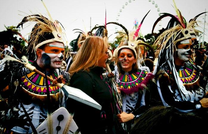 Карнавал Санта-Крус-де-Тенерифе Тенерифе Канарские острова