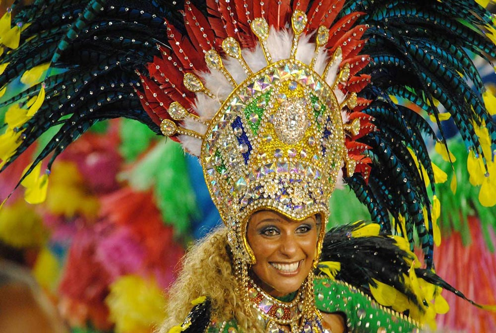 Рио Карнавал Рио-де-Жанейро Бразилия