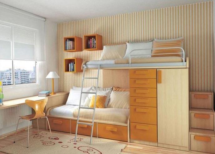 Дизайнерские тонкости увеличить пространство квартиры интерьер спальни