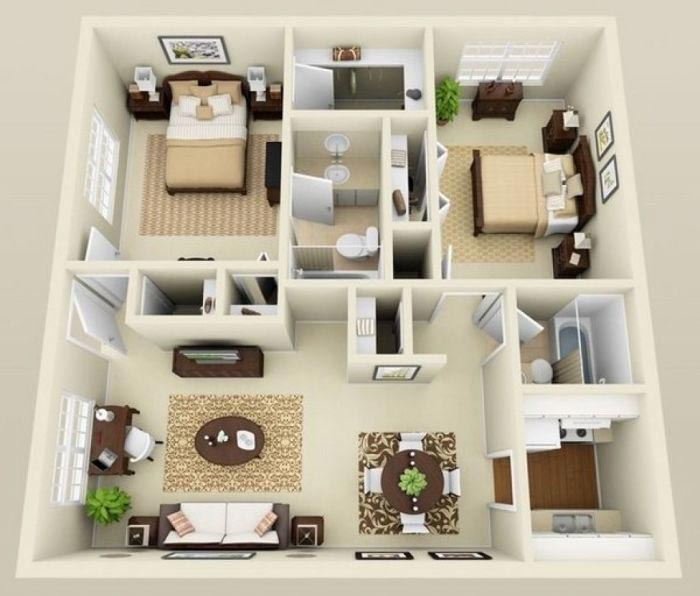 Дизайнерские тонкости увеличить пространство квартиры