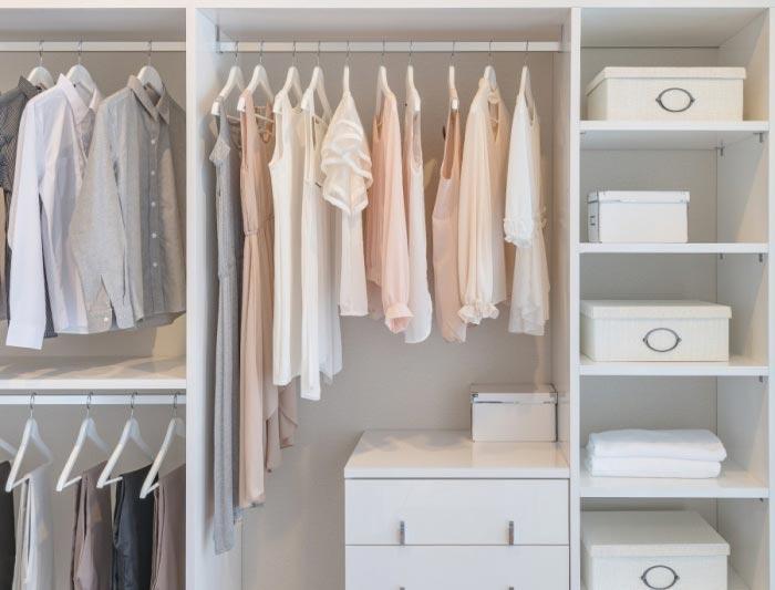 Дизайнерские тонкости увеличить пространство квартиры гардеробный шкаф