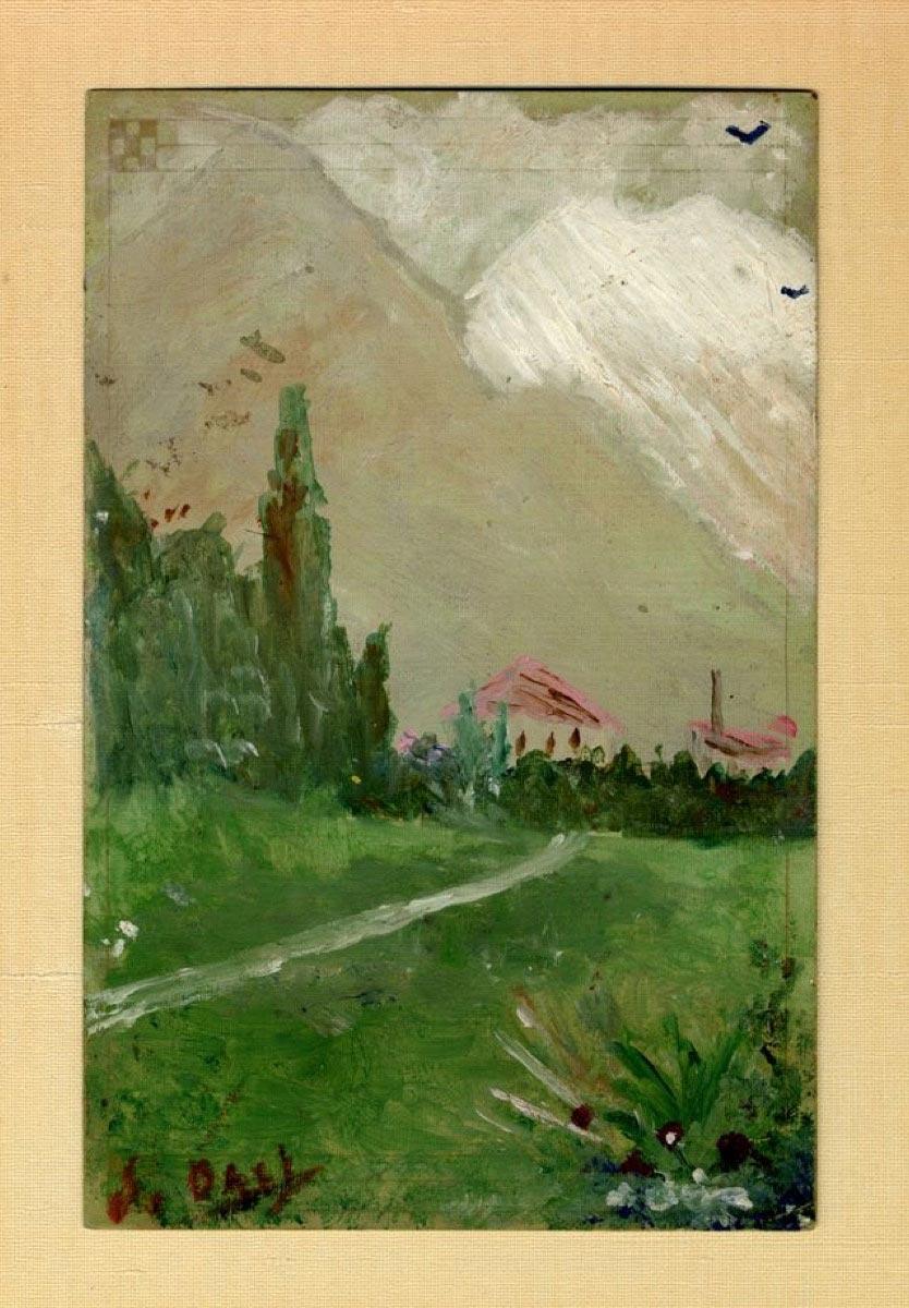 картины знаменитых художников Сальвадор Дали Пейзаж близ Фигераса