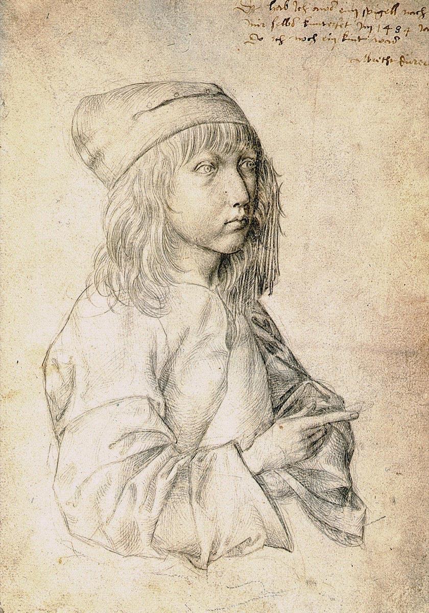 картины знаменитых художников Альбрехт Дюрер, автопортрет