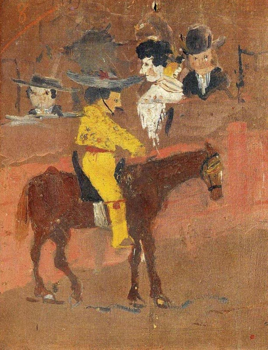 картины знаменитых художников Пабло Пикассо Пикадор