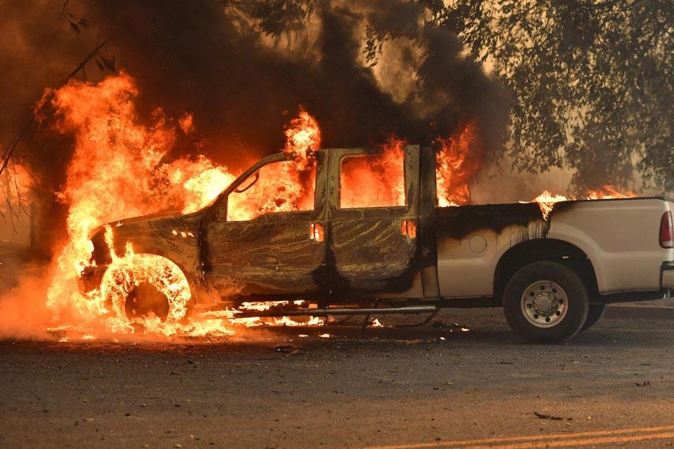 Глобальное потепление лесные пожары