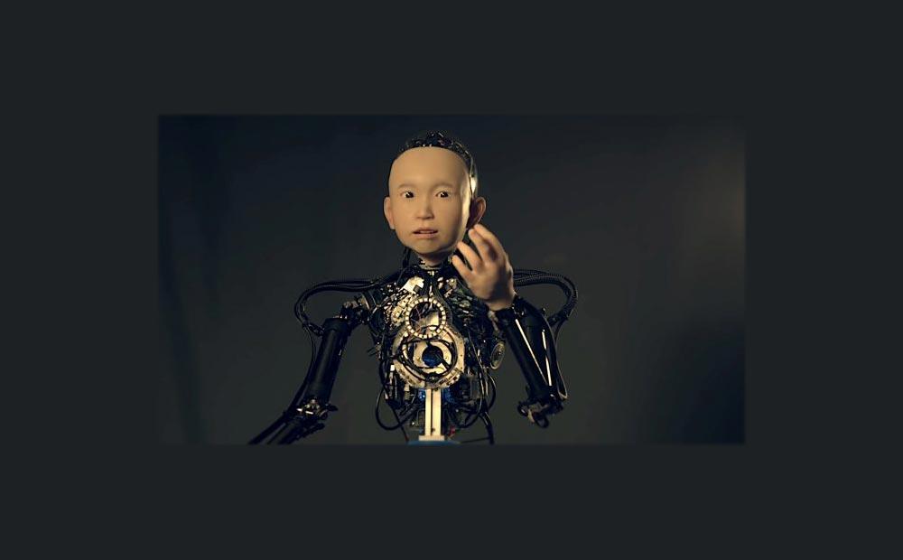 Хироси Исигуро андроид Ибуки