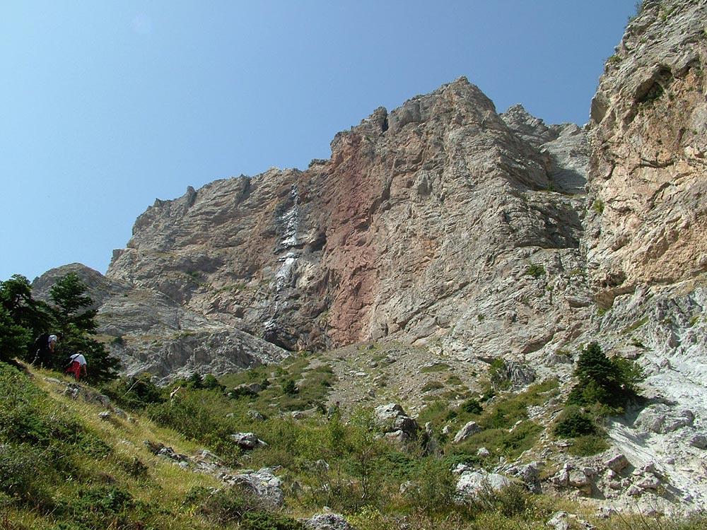 мифические места Водопад Мавренери Греция