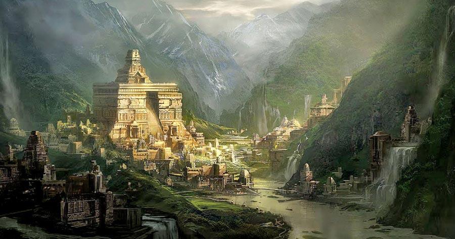 мифические места Шамбала Тибет