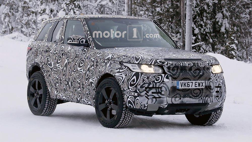 интересные новинки Внедорожник: новый Land Rover Defender