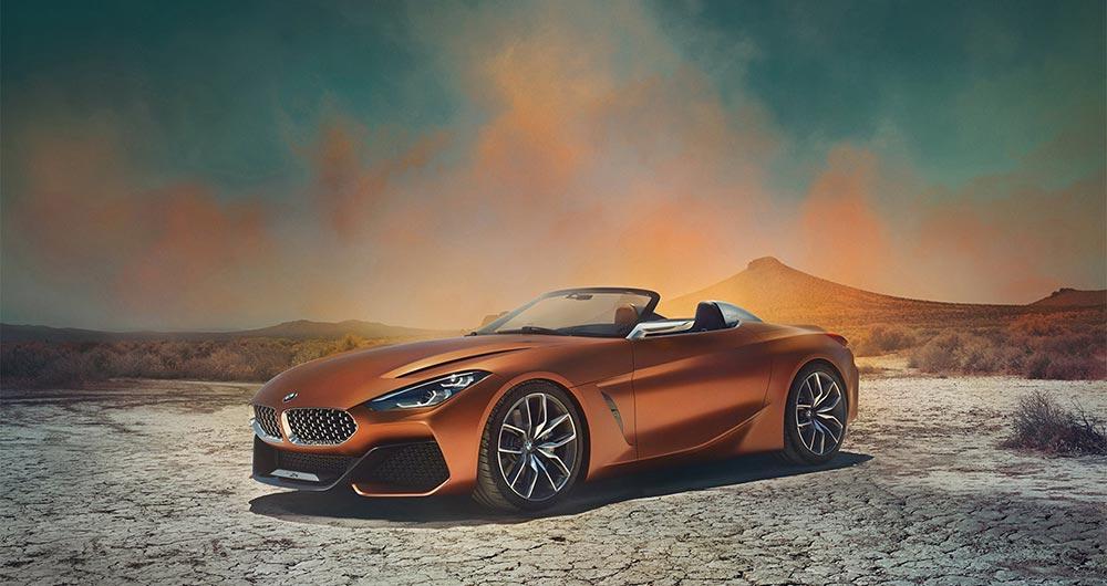 интересные новинки Спорткар: BMW Z4 Toyota Supra