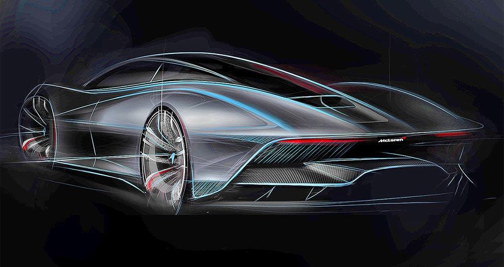 интересные новинки Суперкар: McLaren Speedtail
