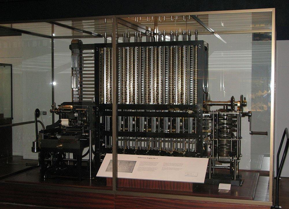изобретения промышленной революции разностная машина Чарльза Бэббиджа