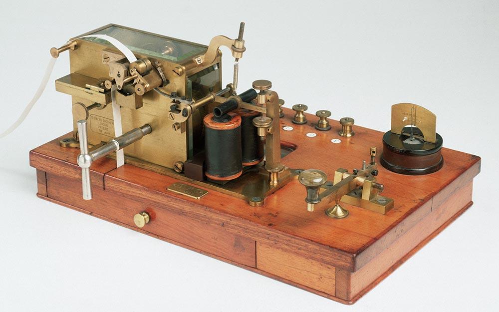 изобретения промышленной революции телеграф