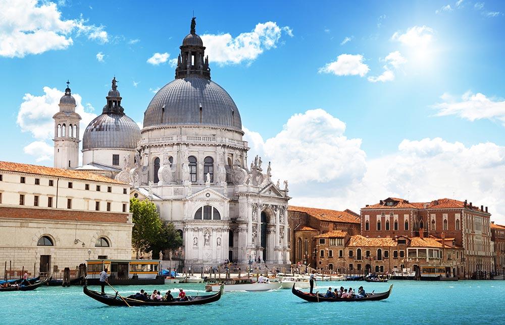 Италия удивительные места Венеция