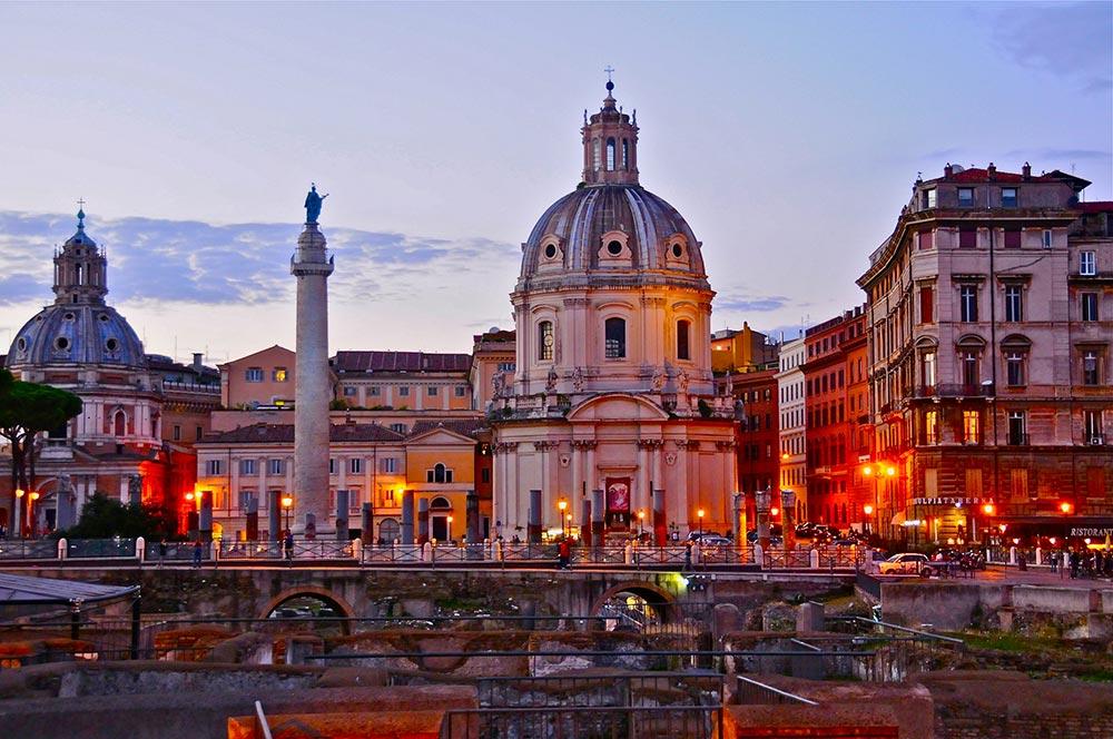 Италия удивительные места Рим