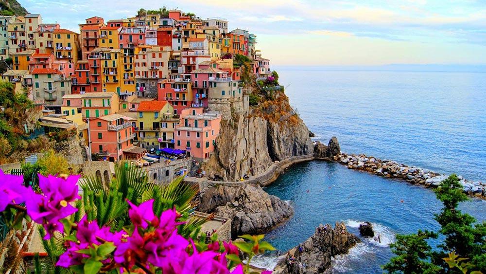 Италия удивительные места Чинкве-Терре