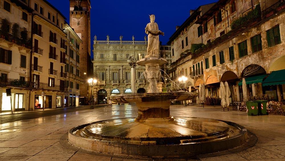 Италия удивительные места Верона