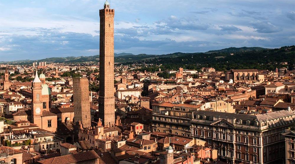 Италия удивительные места Болонья