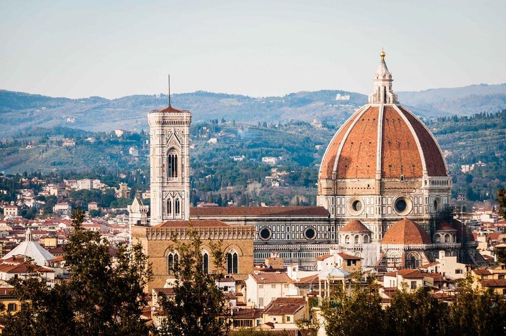 Италия удивительные места Флоренция