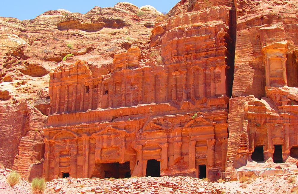 Иордания культовые места Древний город Петра