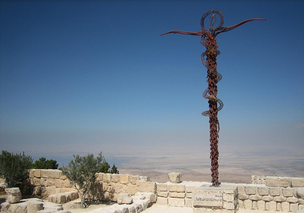 Иордания культовые места гора Нево Небо