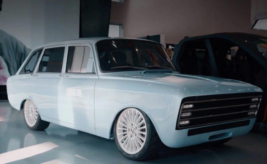 Электромобиль на базе Иж: концерн Калашников представил убийцу Tesla