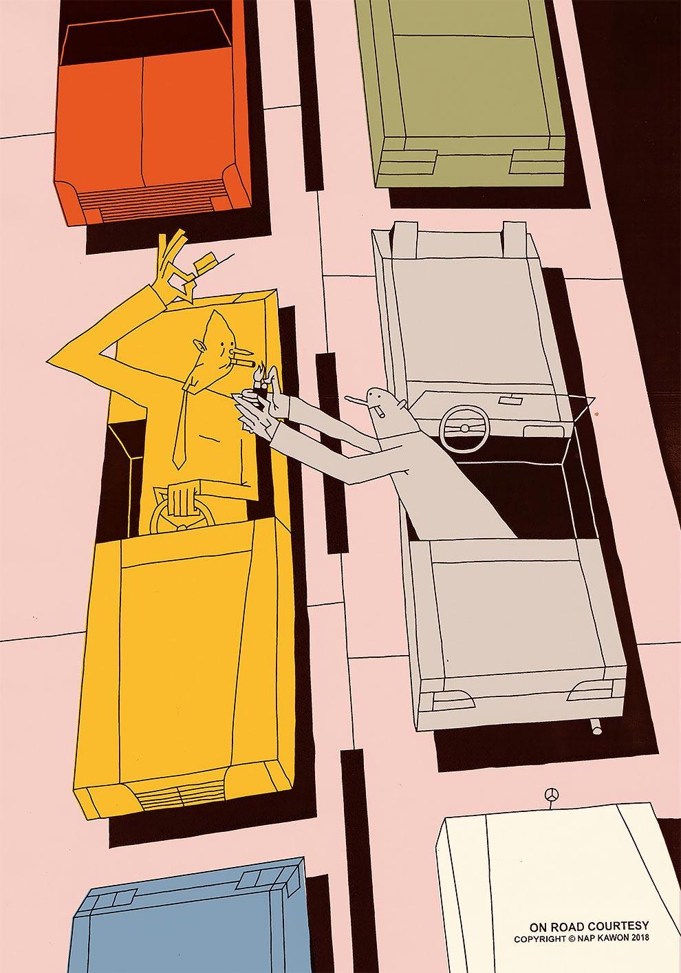 Krzysztof Nowak Кшиштоф Новак векторные иллюстрации