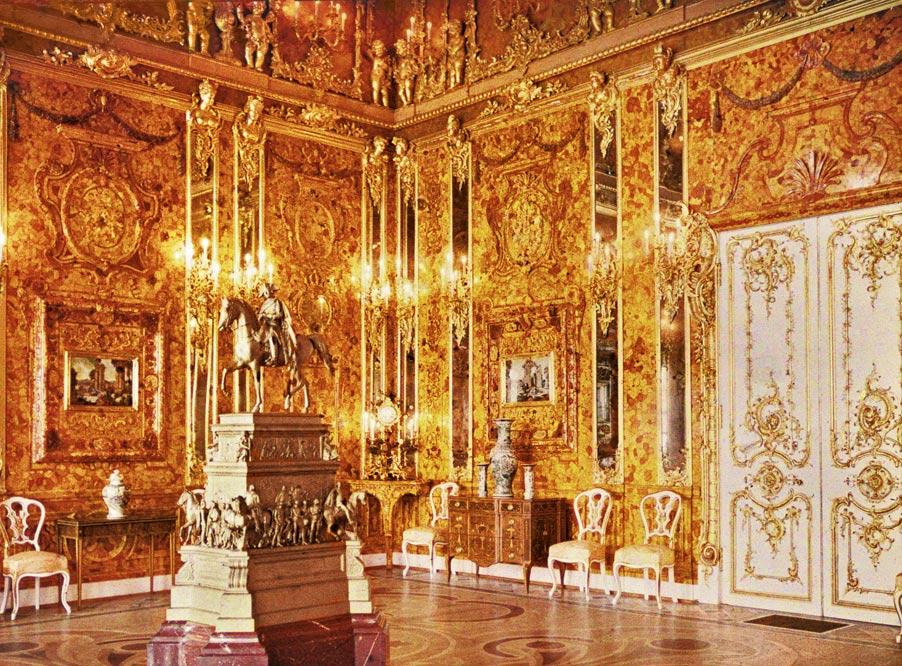 локация Янтарной комнаты