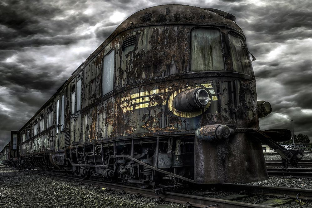 Янтарная комната польский поезд-призрак